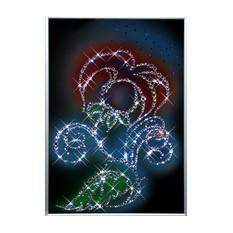 Картина с кристаллами Swarovski Цветок