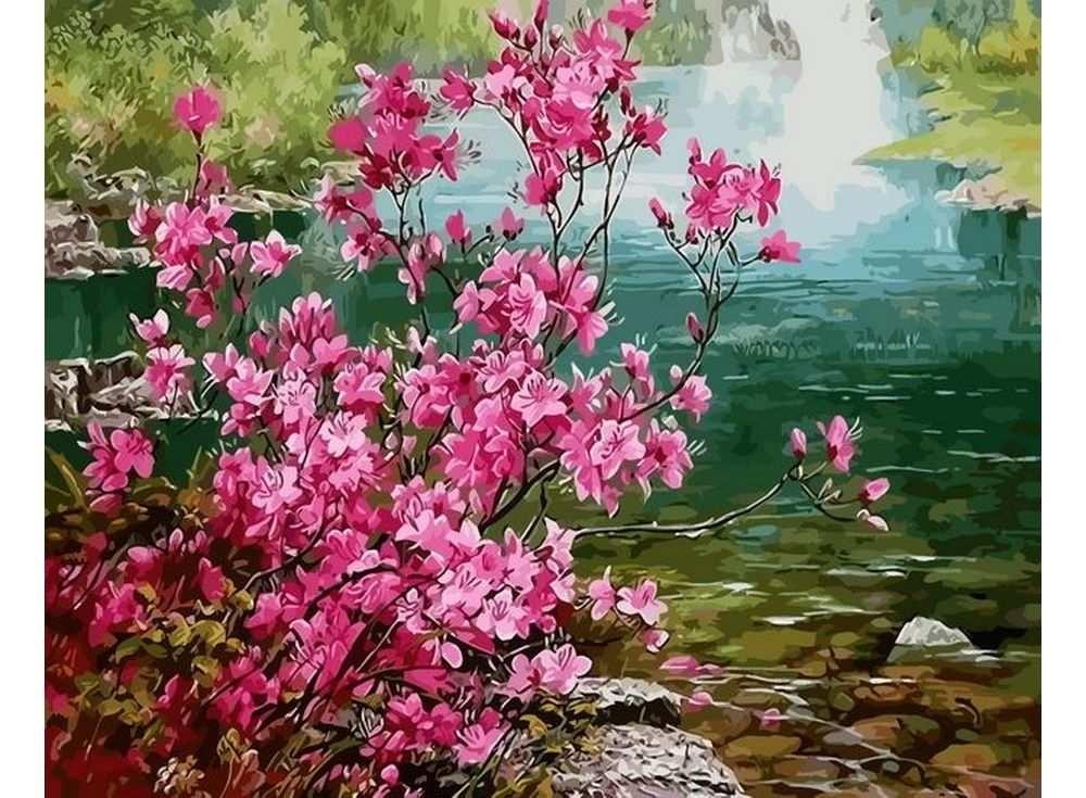 Картины по номерам «Запах весны»