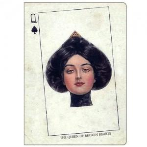 Обложка для паспорта The Queen of Broken Hearts