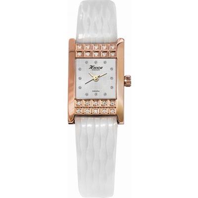 Женские  золотые  часы НИКА - «Гортензия»