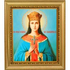 Икона на холсте Иулиания Ольшанская, Печерская праведная
