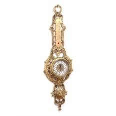 Настенные часы с термометром Alberti Livio