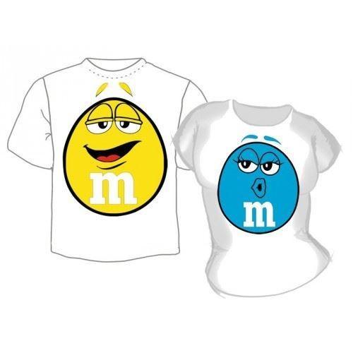 Парные футболки M&M's