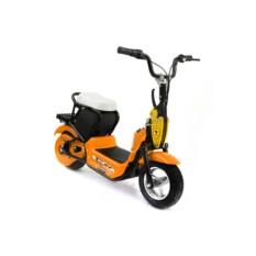 Оранжевый детский электромотоцикл MC-242 (Joy Automatic)