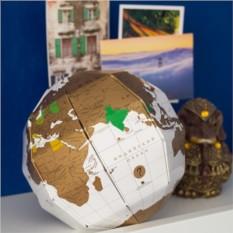 Глобус путешественника со скретч слоем TrueWorld