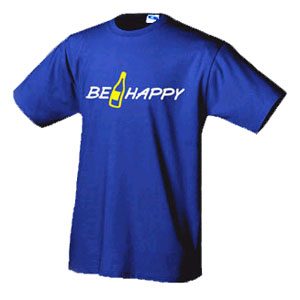 Футболка Be Happy