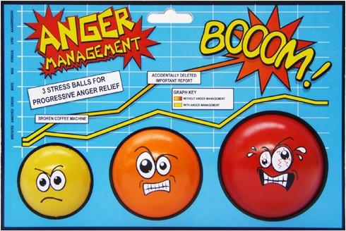 Набор антистрессов Гневное управление
