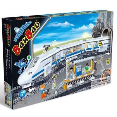 Конструктор BanBao Скоростной поезд