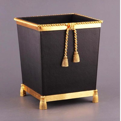 Корзина для мусора «В золоте»