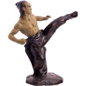 Фигура воина Кунг Фу