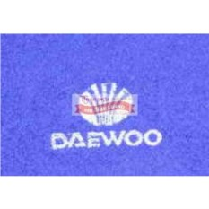 Махровое полотенце с логотипом Daewoo