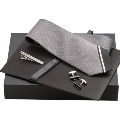 Набор Jean-Louis Scherrer: галстук, зажим, запонки