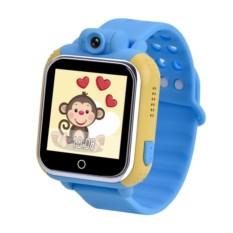 Детские часы Smart Baby Watch Q75/G10 (цвет — голубой)