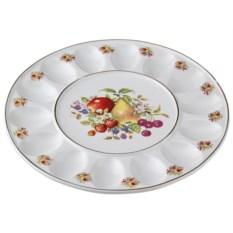 Фарфоровая тарелка для яиц Фрукты Porcelain Manufacturing