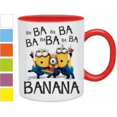 Кружка Миньоны banana