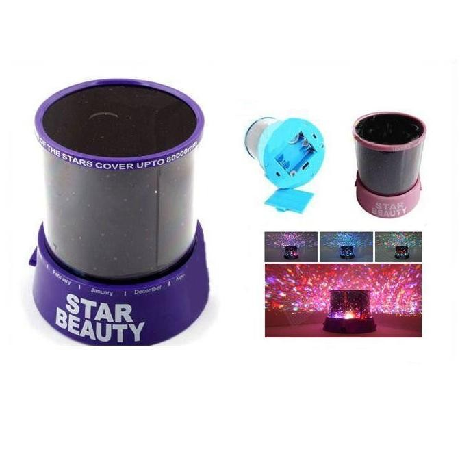 Проектор звездного неба - ночник Star Beauty