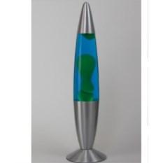 Зелёно-синяя лава-лампа
