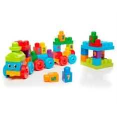 Конструктор Mega Bloks Обучающий поезд от Mattel