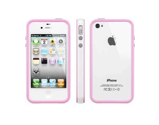 Бампер SGP Neo Hybrid 2S Pastel Series для iPhone 4S/4, Pink