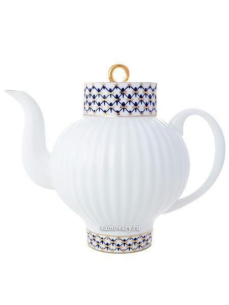 Заварочный чайник Кобальтовая сетка