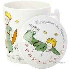 Фарфоровый бокал с крышечкой Маленький принц