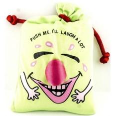 Зеленый мешок со смехом
