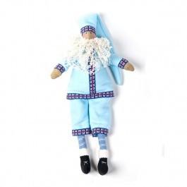 Санта Клаус в голубом