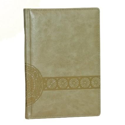 Ежедневник датированный кожаный