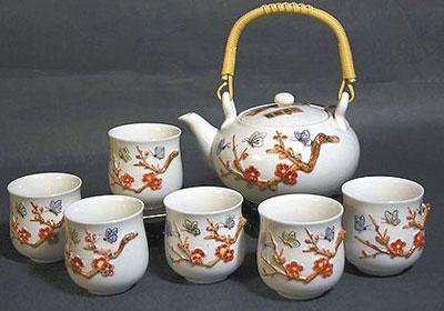 Сервиз чайный «Цветы персика»