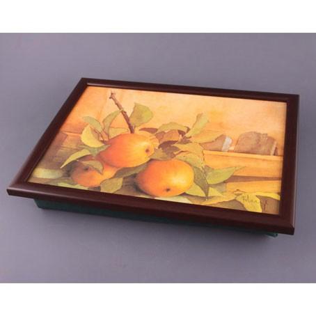 Поднос с подушкой «Яблочки для штруделя»