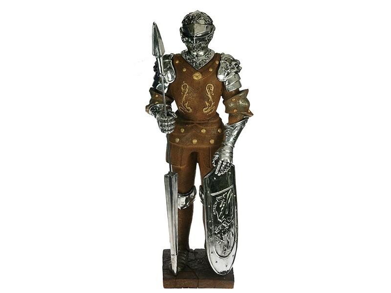 Статуэтка Рыцарь с копьем и щитом