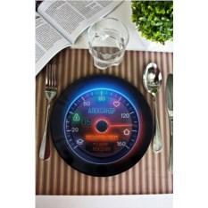 Декоративная тарелка с вашим текстом Подарок автомобилисту
