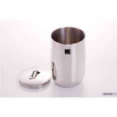 Емкость с крышкой из нержавеющей стали Самбонент (20 см)