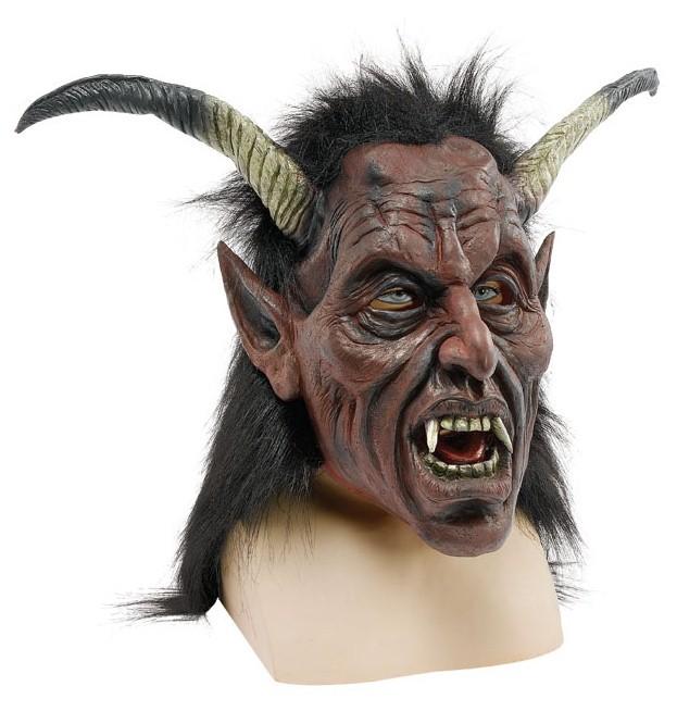 Маска Дьявола с длинными рогами