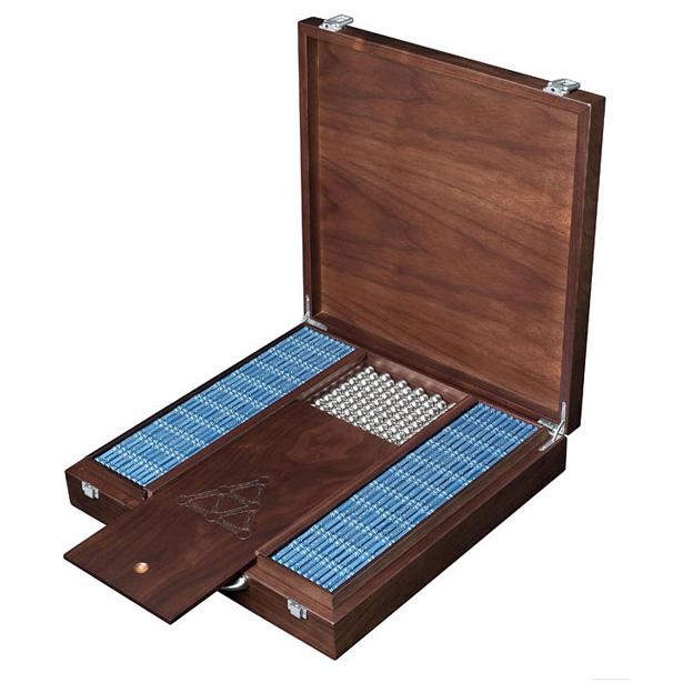 Магнитный конструктор Geomag wood box 1450