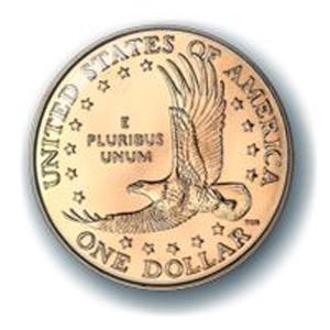 Значок «1 доллар США»