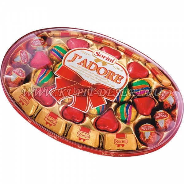 Шоколадные конфеты Jadore Sorini