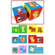 Детские кубики Чье лакомство?
