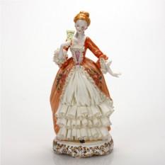 Статуэтка Дама в оранжевом платье Hangzhou Jinding