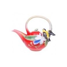 Заварочный чайник «Иволга и Орхидея»