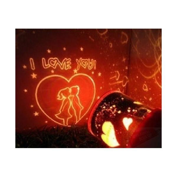 Ночник проектор звездного неба I love you