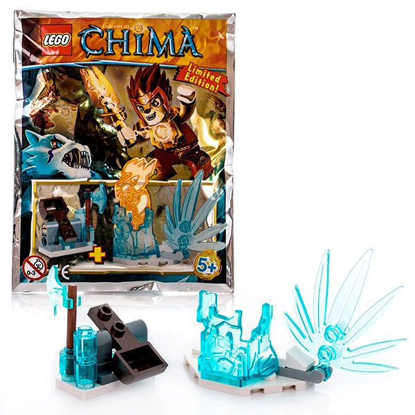 Конструктор Ледяная тюрьма Lego Legends Of Chima