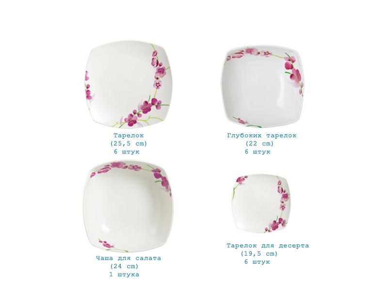 Сервиз Pink Blossom