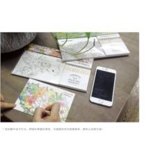 Набор раскрасок-открыток Антистресс