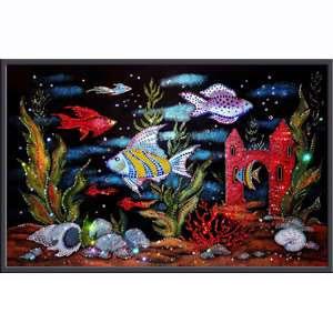 Хрустальная картина «Аквариум»