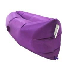 Фиолетовый надувной диван Ламзак