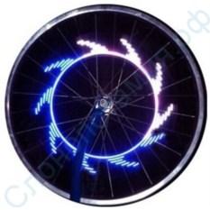 Светодиодная Led подсветка для колес велосипеда RockYou 7 Led