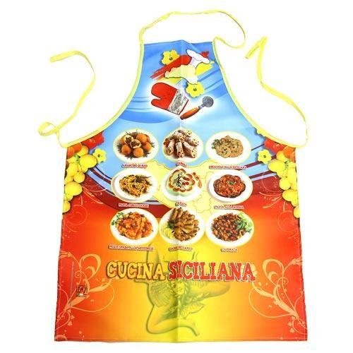 Фартук прикольный Сицилийская кухня