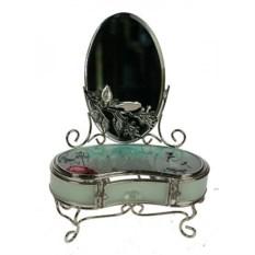 Шкатулка с зеркалом Красавица