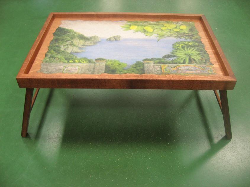 Столик для завтрака в постели Солнечный край